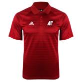 Adidas Climalite Red Jaquard Select Polo-AP