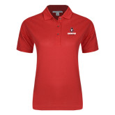 Ladies Easycare Red Pique Polo-Governor Austin Peay Governors