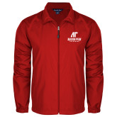Full Zip Red Wind Jacket-AP Austin Peay Governors - Official Athletic Logo