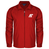 Full Zip Red Wind Jacket-AP