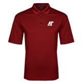 Red Performance Fine Jacquard Polo-AP