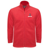 Fleece Full Zip Red Jacket-Governor Austin Peay Governors