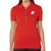 Ladies Callaway Opti Vent Red Polo-AP