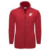 Columbia Full Zip Red Fleece Jacket-AP