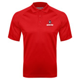 Red Textured Saddle Shoulder Polo-Governor Austin Peay Governors