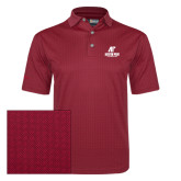 Callaway Red Jacquard Polo-AP Austin Peay Governors - Official Athletic Logo
