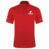 Columbia Red Omni Wick Round One Polo-AP Austin Peay Governors - Official Athletic Logo