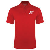 Columbia Red Omni Wick Round One Polo-AP
