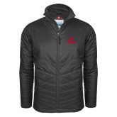 Columbia Mighty LITE Charcoal Jacket-AP Austin Peay Governors - Official Athletic Logo