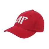 Red OttoFlex Unstructured Low Profile Hat-AP