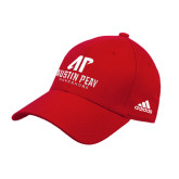 Adidas Red Structured Adjustable Hat-AP Austin Peay Governors - Official Athletic Logo