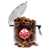 Deluxe Nut Medley Round Canister-AP Austin Peay Governors - Official Athletic Logo