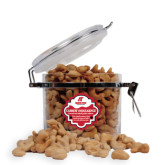 Cashew Indulgence Round Canister-AP Austin Peay Governors - Official Athletic Logo