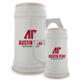 Full Color Decorative Ceramic Mug 22oz-AP Austin Peay Governors - Official Athletic Logo