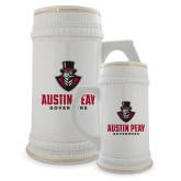 Full Color Decorative Ceramic Mug 22oz-Governor Austin Peay Governors