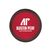 Round Coaster Frame w/Insert-AP Austin Peay Governors - Official Athletic Logo