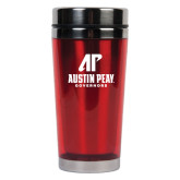 Solano Acrylic Red Tumbler 16oz-AP Austin Peay Governors - Official Athletic Logo
