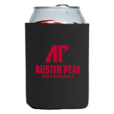 Collapsible Black Can Holder-AP Austin Peay Governors - Official Athletic Logo