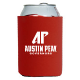 Collapsible Red Can Holder-AP Austin Peay Governors - Official Athletic Logo