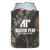 Collapsible Mossy Oak Camo Can Holder-AP Austin Peay Governors - Official Athletic Logo