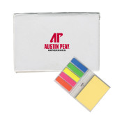 Micro Sticky Book-AP Austin Peay Governors - Official Athletic Logo