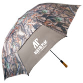 58 Inch Hunt Valley Camo Umbrella-AP Austin Peay Governors - Official Athletic Logo