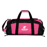 Tropical Pink Gym Bag-AP Austin Peay Governors - Official Athletic Logo