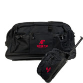 Urban Passage Wheeled Black Duffel-AP Austin Peay Governors - Official Athletic Logo