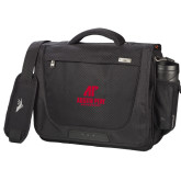 High Sierra Black Upload Business Compu Case-AP Austin Peay Governors - Official Athletic Logo