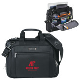 Kenneth Cole Black Vertical Checkpoint Friendly Messenger-AP Austin Peay Governors - Official Athletic Logo