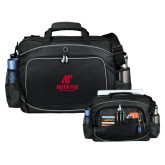 Hive Checkpoint Friendly Black Compu Case-AP Austin Peay Governors - Official Athletic Logo