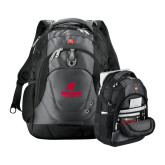 Wenger Swiss Army Tech Charcoal Compu Backpack-AP Austin Peay Governors - Official Athletic Logo