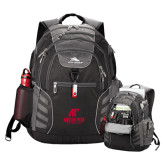 High Sierra Big Wig Black Compu Backpack-AP Austin Peay Governors - Official Athletic Logo
