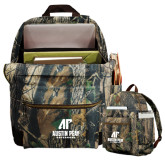 Heritage Supply Camo Computer Backpack-AP Austin Peay Governors - Official Athletic Logo