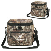 Big Buck Camo Sport Cooler-AP Austin Peay Governors - Official Athletic Logo