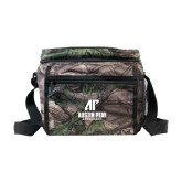 Big Buck Camo Junior Sport Cooler-AP Austin Peay Governors - Official Athletic Logo