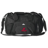 High Sierra Black Switch Blade Duffel-AP Austin Peay Governors - Official Athletic Logo