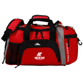 High Sierra Red/Black Switch Blade Duffel-AP Austin Peay Governors - Official Athletic Logo
