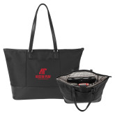 Stella Black Computer Tote-AP Austin Peay Governors - Official Athletic Logo