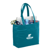 Fine Society Teal Computer Tote-AP Austin Peay Governors - Official Athletic Logo