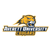 Large Decal-Averett University Cougars, 12 inches wide