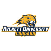 Extra Large Decal-Averett University Cougars, 18 inches wide