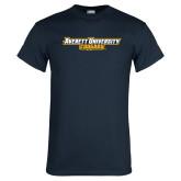 Navy T Shirt-Averett University Cougars