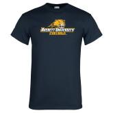 Navy T Shirt-Football