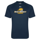 Under Armour Navy Tech Tee-Averett University Cougars