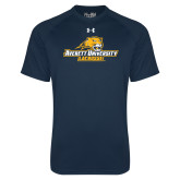 Under Armour Navy Tech Tee-Lacrosse