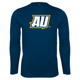 Syntrel Performance Navy Longsleeve Shirt-AU