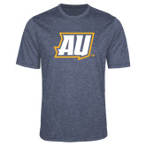 Performance Navy Heather Contender Tee-AU