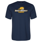 Performance Navy Tee-Averett University Cougars