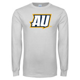 White Long Sleeve T Shirt-AU